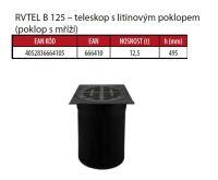 OSMA kanalizační šachta 315x2000 mm vícevtoková KG 160 poklop teleskopický mříž - 12,5t