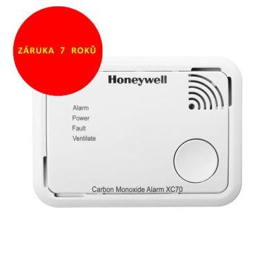 Honeywell CO Alarm XC70-CS Detektor oxidu uhelnatého