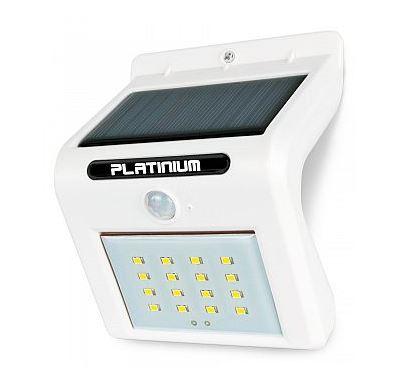 Platinium Nástěnné solární LED světlo s detektorem pohybu