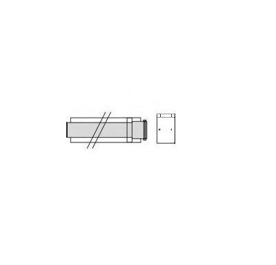 Vaillant Prodlužovací trubka 1,0 m, O 80 mm