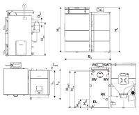 Dakon DOR N 15 Automat - Pelety Kotel na tuhá paliva