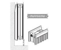 Radiátor VK 22-450/1100 - PURMO AKCE Termohlavice za 50,- Kč