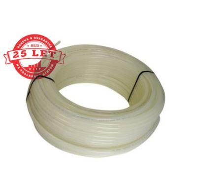 KIIPTHERM Plastová trubka PE-Xc 18x2 - 90°C - bílá   1m