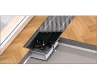 BOKI InFloor Podlahový konvektor F1P  90/180-6000mm - pozink S ventilátorem