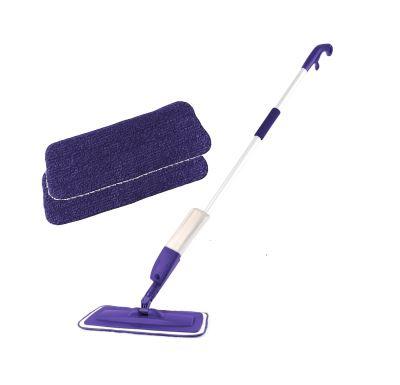 Rovus Set Rozprašovací mop Fialový + Sada 2 ks čistících polštářků