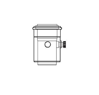 ALMEVA LIK měřící kus s 2 měřícími otvory 60/100