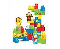 Kids World Logická stavebnice LOGIS zvířátka 42 ks