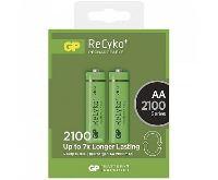 GP Batteries Nabíjecí baterie AA GP ReCyko+ NiMH 2100mAh - 2 ks