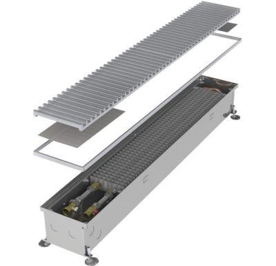 MINIB Podlahový konvektor COIL-KT1  1250 mm S ventilátorem, mřížka