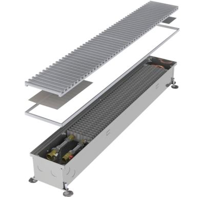 MINIB Podlahový konvektor COIL-KT1  3000 mm S ventilátorem, mřížka