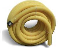 PVC drenážní trubka DN  65 žlutá děrovaná | 1m