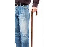 HomeLife Vycházková hůl dřevěná