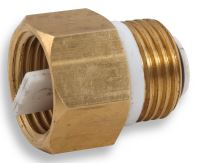 """NOVASERVIS Zpětná klapka k odvzdušňovacímu ventilu 1/2"""" - RA604/15"""