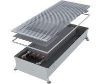 MINIB Podlahový konvektor COIL – P80 2500 mm Bez ventilátoru, mřížka 232 mm