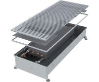 MINIB Podlahový konvektor COIL-PT80  1500 mm Bez ventilátoru, mřížka 292 mm