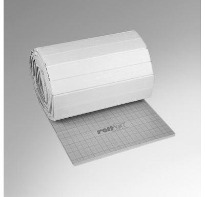 Izolační deska s rastrem Rolljet EPS 100 - 25 mm s fólií 12m2