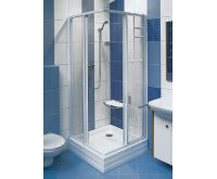 Ravak sprchový kout čtvercový SRV2 - 90 S bílá+pearl