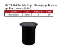 OSMA kanalizační šachta 315x1000 mm vícevtoková KG 160 poklop teleskopický plný - 40t