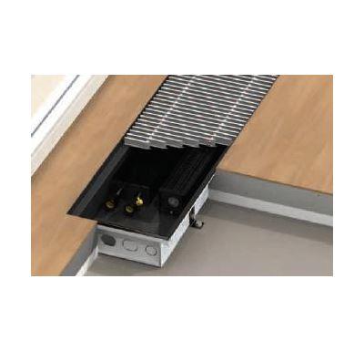 BOKI InFloor Podlahový konvektor F1T 140/340-1600mm - pozink S ventilátorem