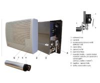 Mora-Top MAIA 2 kW podokenní plynové topidlo