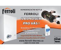 Ferroli BLUEHELIX PRO 25C Kotel kondezační | AKCE Magnetický filtr a ochranná kapalina ZDARMA