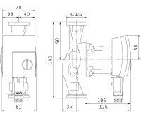WILO Yonos PICO 25/1-4 oběhové čerpadlo pro topení