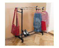 HomeLife Pojízdný stojan na šaty
