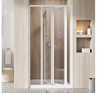 Ravak Sprchové dveře SDZ3-90 bílá+Transparent