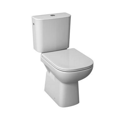 DEEP by JIKA WC kombi - svislý odpad - spodní napouštění