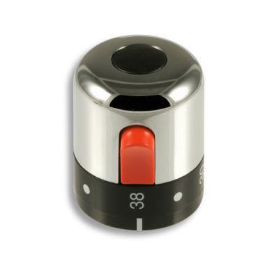 NOVASERVIS Rukojeť termostatu chrom - R/2200T,0