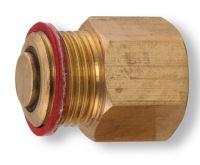 """NOVASERVIS Zpětná klapka k odvzdušňovacímu ventilu 1/2"""" - RA603/15"""