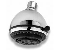 NOVASERVIS Pevná sprcha samočistící 5-polohová průměr 80 mm chrom - RUP/DEXIN,0