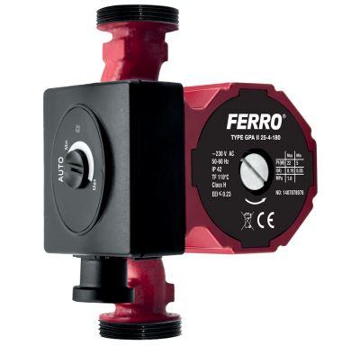 Weberman Ferro 25-40/180 mm Čerpadlo pro topení