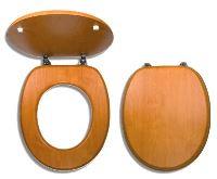 NOVASERVIS Sedátko dýhované dřevo - WC/ORECH